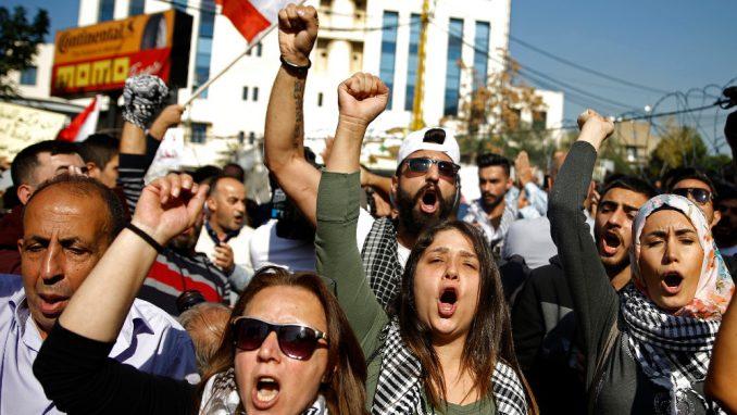 Protest u Libanu zbog hapšenja maloletnika: Režim mora pasti 4