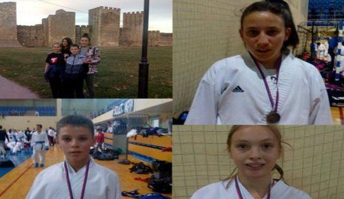 """Karate klubu """"Zvečan"""" tri medalje na Kupu Srbije za pionire i mlade nade u karateu 7"""