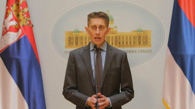 Martinović: Niko u Srbiji nije zaštićen, pa ni Koluvija koji je u delegaciji stajao pored Vučića 1