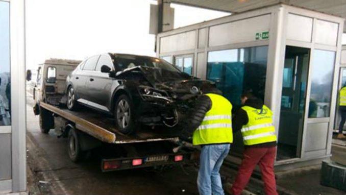 Putevi Srbije kriju snimke nesreće na naplatnoj rampi u Doljevcu 4