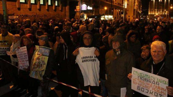 """Protest """"1 od 5 miliona"""": Poništavanje doktorata mora da zabrine vlast (VIDEO) 4"""