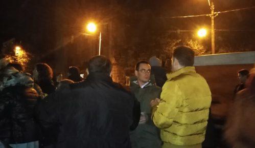 Protest građana Starog grada zbog izmeštanja trolejbuskih linija 1