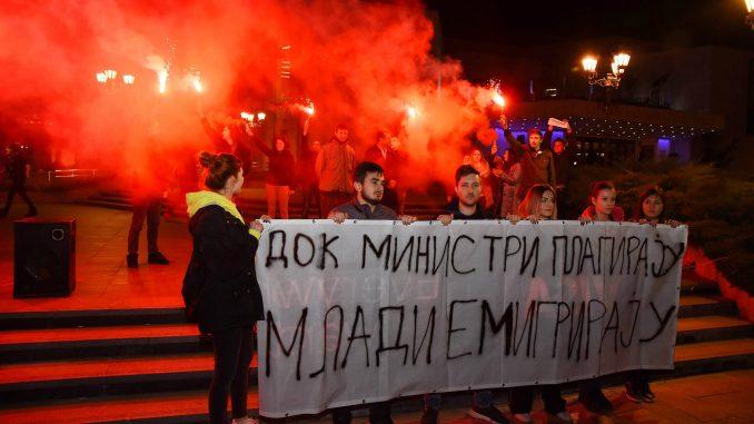 Protest SZS u Novom Sadu: Siniša Mali i cela vlada Srbije moraju da odu (FOTO) 1