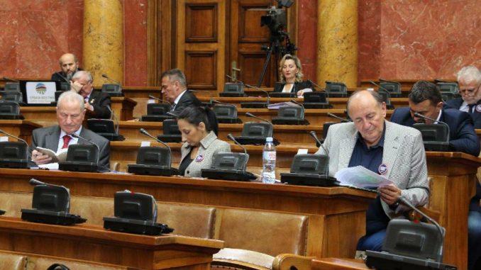 U Skupštini Srbije sutra 13 predloga zakona i odluka o infrastrukturi 2