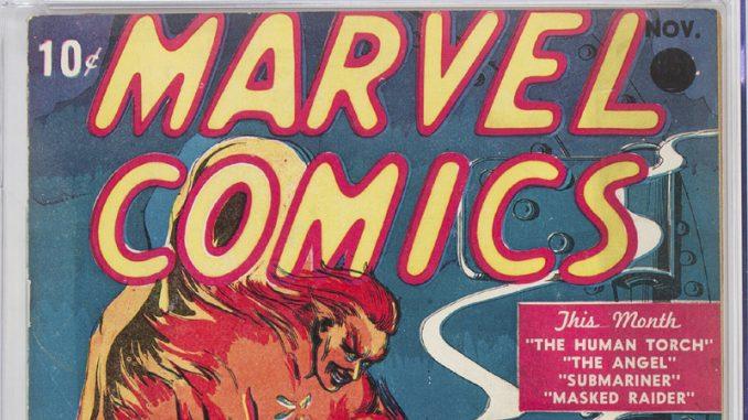 Prvi Marvelov strip prodat na aukciji za rekordnu cenu 1
