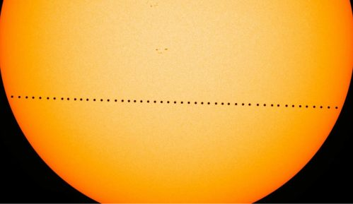 Minijaturno pomračenje Sunca 10