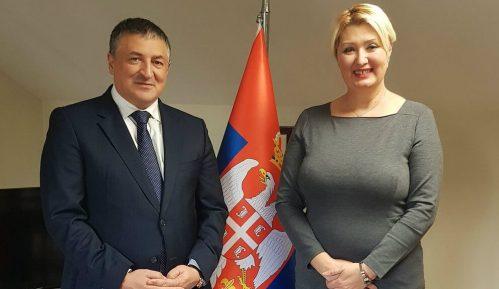 Tončev u Generalnom konzulatu Srbije u Istanbulu 1