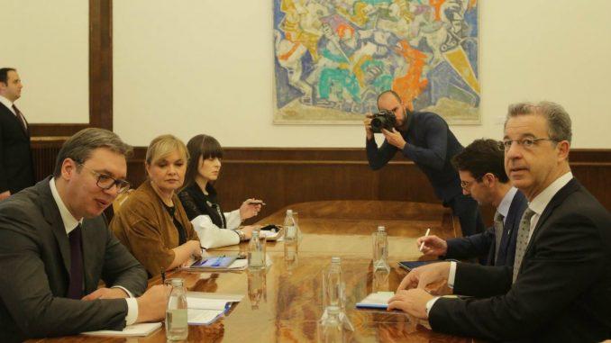 Bramerc i Vučić: Srbija će sarađivati sa Hagom uprkos neslaganjima 3