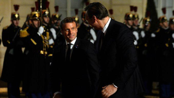 Vučić nakon sastanka sa Tačijem i Makronom: Evropa želi da ima ulogu u rešavanju kosovskog pitanja 4