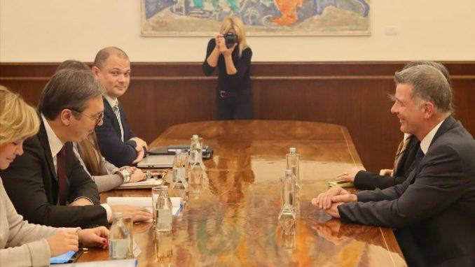 Vučić sa političkim direktorom Forin Ofisa: Potreban jasan plan za proširenje EU 2