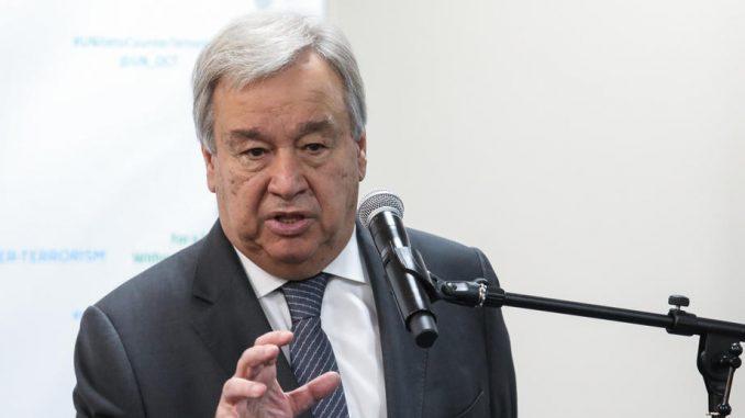Šef UN-a apeluje na zaustavljanje sukoba Izraela i Gaze 5