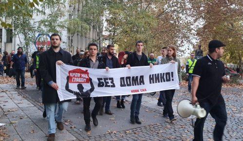 Aktivisti Za krov nad glavom održali protest u Novom Sadu 11