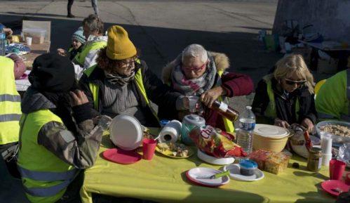Novi protesti Žutih prsluka širom Francuske 10