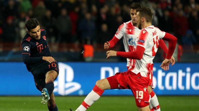 Crvena zvezda doživela u Beogradu debakl od Bajerna u Ligi šampiona 2
