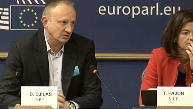 Đilas u Evropskom parlamentu: Agresija i tenzije u Srbiji ogromne 4