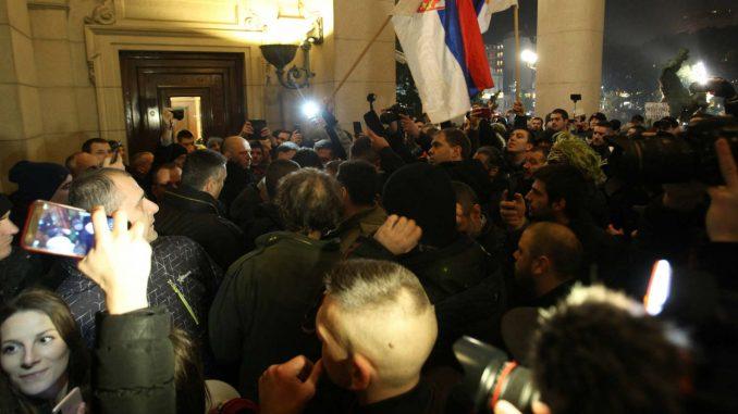 Studenti zamolili Obradovića da ne izaziva incidente 2