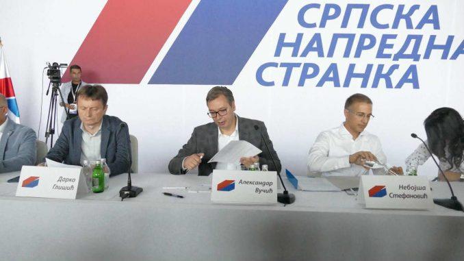 Posle najave Vučića, odbori SNS glasaju o (ne)poverenju Stefanoviću i Lončaru 3