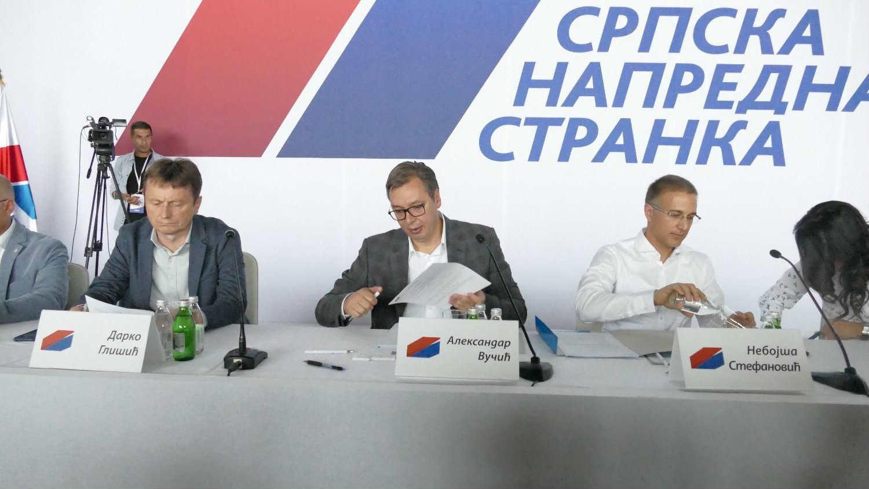 Posle najave Vučića, odbori SNS glasaju o (ne)poverenju Stefanoviću i Lončaru
