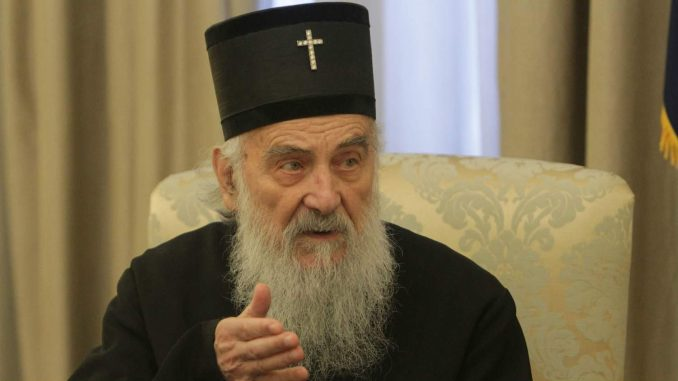 Patrijarh Irinej sveštenicima: Zabranjeno više od pet lica na jednom mestu 3