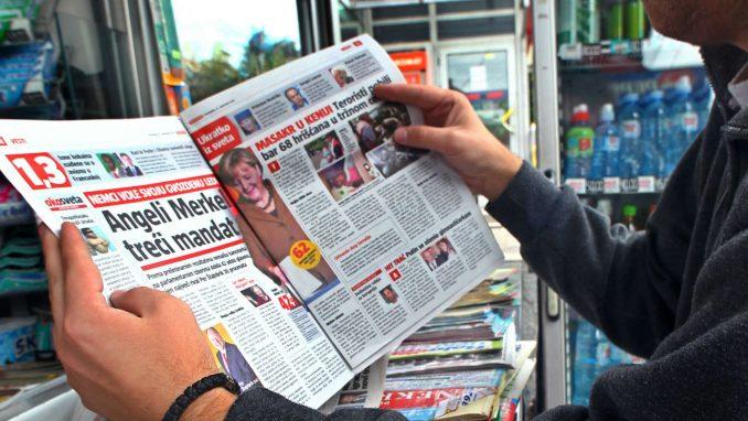 Ministarstvo osudilo naslovne strane tabloida, očekuje brzu reakciju tužilaštva 4