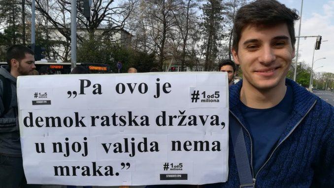 """Godinu dana protesta - stručnjaci o rezultatima: """"Jedinica za slobodne medije, trojka za poštene izbore"""" 1"""