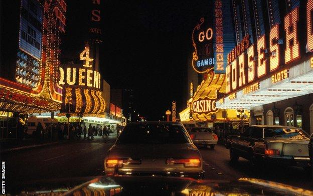 Las Vegas 1960.