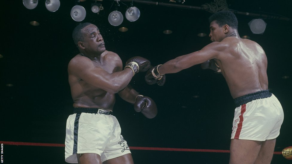 Liston i Ali u borbi 1964. godine.