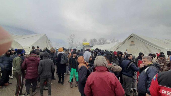 Vučjak: Izbeglice i migranti žele što dalje odatle 3