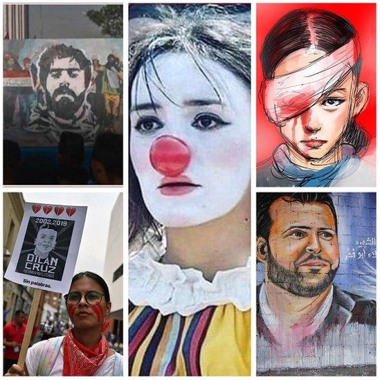 Protesti 2019: Ljudi koji su postali simboli bunta u zemljama širom sveta 2