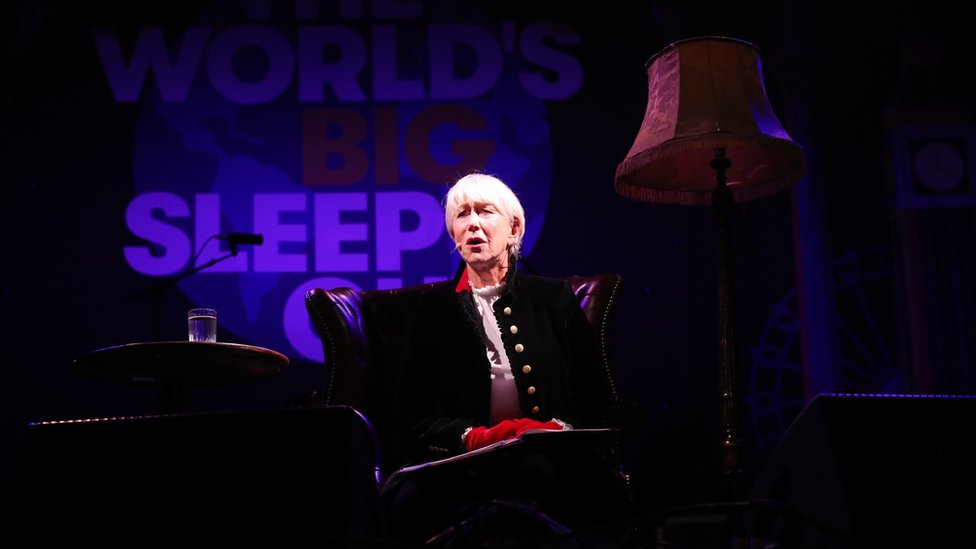 Helen Mirren at World's Big Sleep Out event in London
