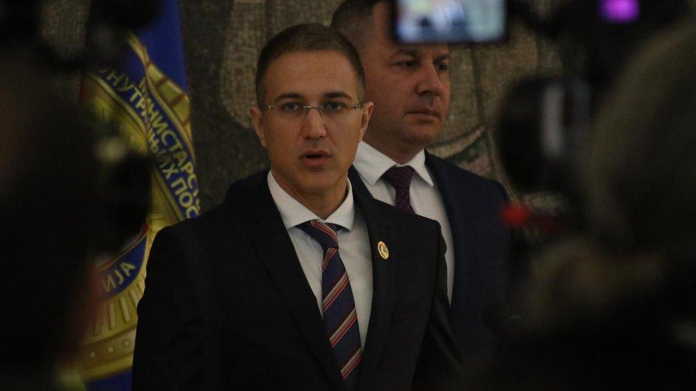 Ministar policije Nebojša Stefanović