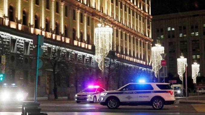 Rusija: Pucnjava u Moskvi - napadač ubijen ispred zgrade tajne službe 4