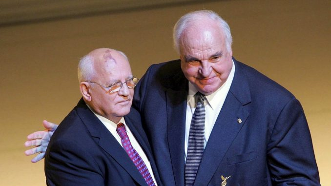 Nemci Gorbačovu duguju spomenik 2