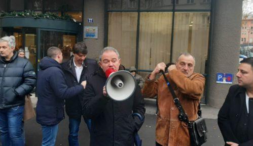 Zoran Živković: Bio sam gost na protestu 5
