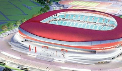 Ništa od početka gradnje Nacionalnog stadiona 1