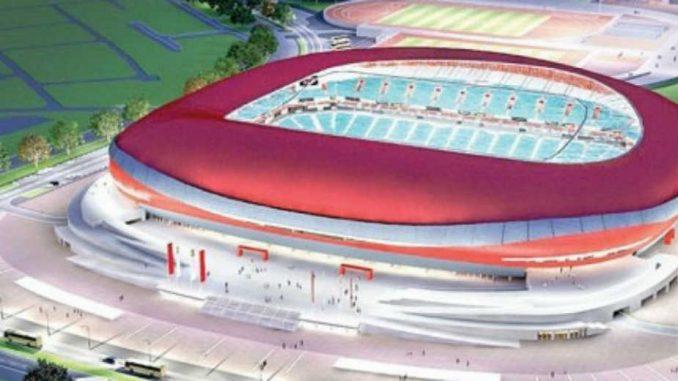 Ništa od početka gradnje Nacionalnog stadiona 3
