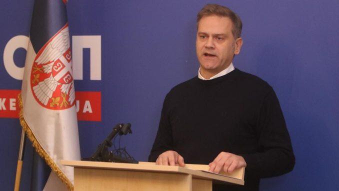 Stefanović (SSP): Problem KiM ne može se rešiti dogovorom optuženih za ratne zločine i autokrata 2