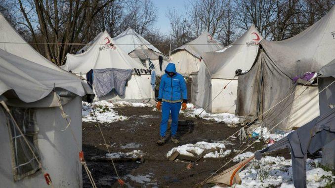 Migranti iz Vučjaka: U Sarajevo nas možete odvesti samo silom, mi želimo u EU 1