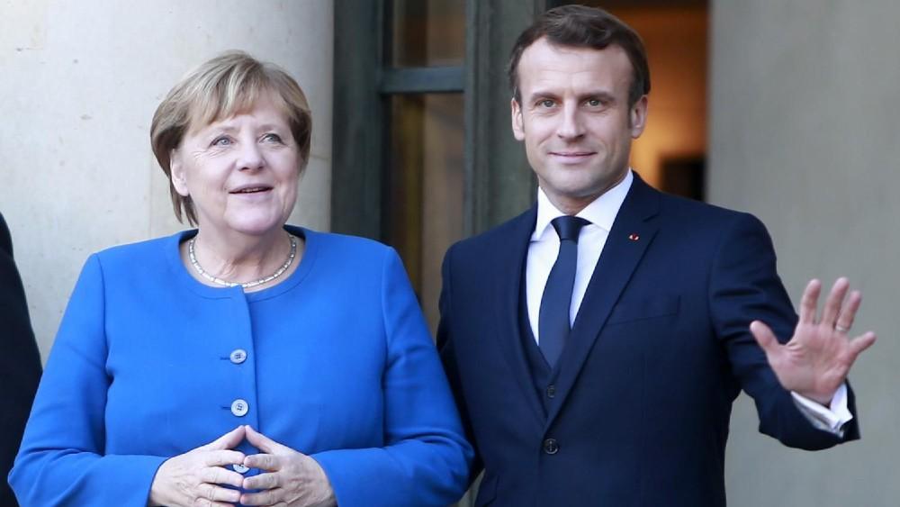Građani EU Angeli Merkel daju prednost u odnosu na Makrona 1