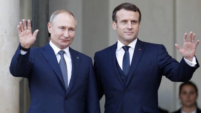 Makron i Putin razgovarali o nastavku saradnje 2