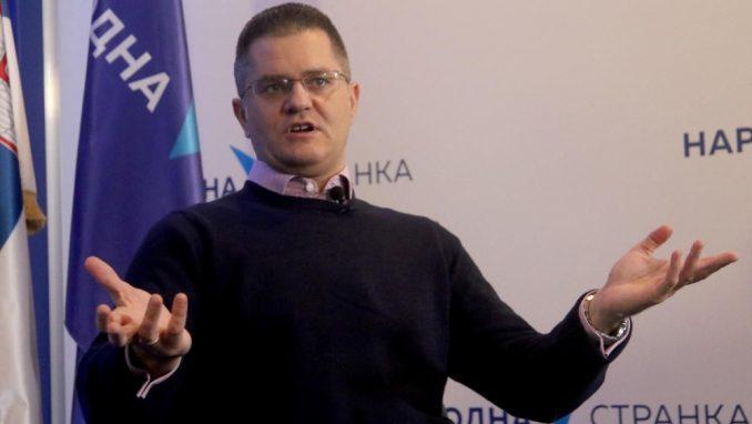 Jeremić: Narodna stranka od danas nastupa samostalno kao i ostale članice Udružene opozicije 1