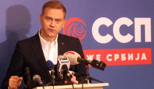 Stefanović (SSP): Vlada odustala od puta u EU 1