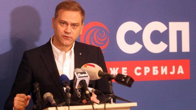 Stefanović (SSP): Dačić i Vučić neće određivati ko će predstavljati EU u dijalogu o izborima 2