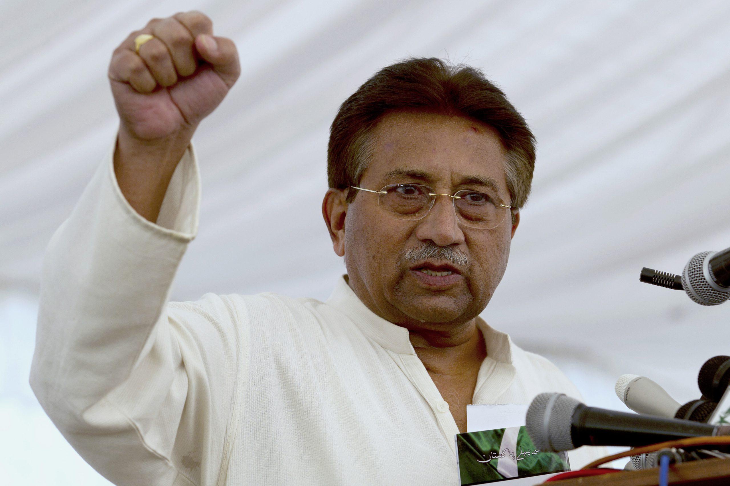 Bivši pakistanski predsednik Mušaraf osuđen na smrt zbog veleizdaje 1