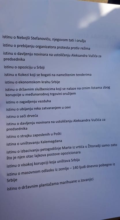 Jeremić po završetku blokade RTS: Cela akcija mogla da traje 15 minuta 9