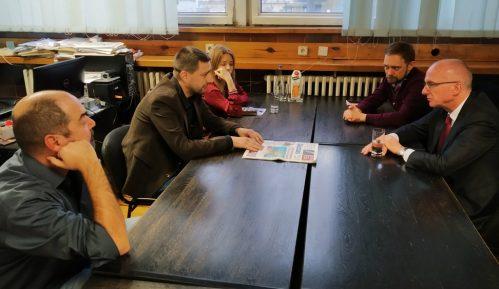 Ambasador Nemačke posetio redakciju Danasa 15