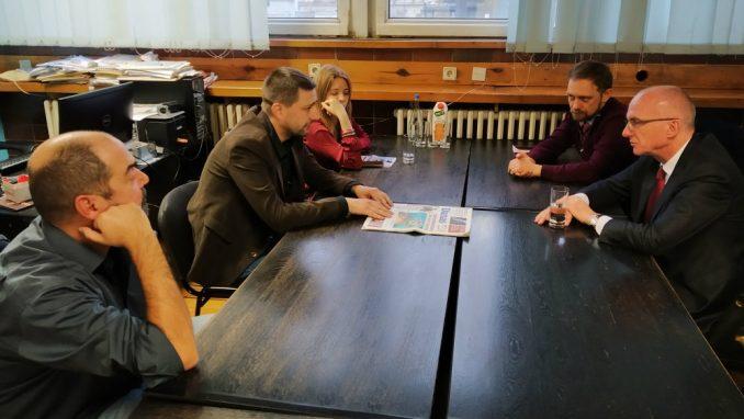 Ambasador Nemačke posetio redakciju Danasa 3