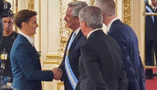 Brnabić prisustvovala inauguraciji predsednika Argentine 4