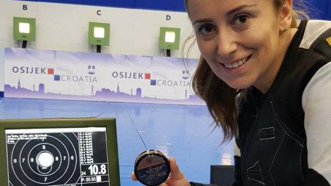 Andrea Arsović preciznija od svetskog rekorda 1