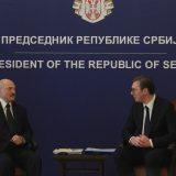 Vučić: Poseta Lukašenka unaprediće ekonomske odnose, politički su već odlični 10